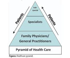 pyramid of healthcare